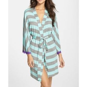 Honeydew Intimates Striped Robe